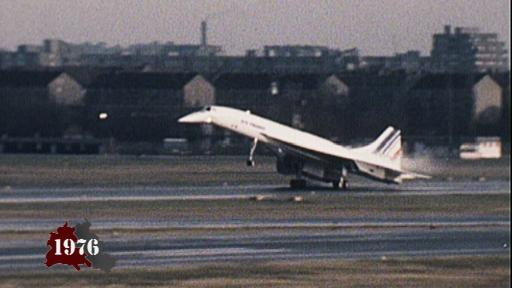 Concorde lands in Tegel