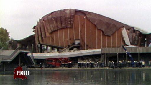 Kongresshalle eingestürzt