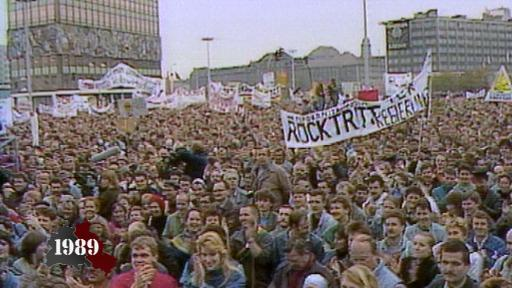 Rally at Alexanderplatz
