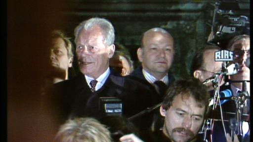 Willy Brandt at Schöneberg town hall