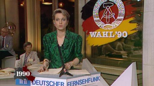 The GDR holds its first free election