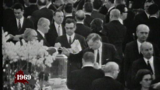 Election of President of the Federal Republic, Gustav Heinemann