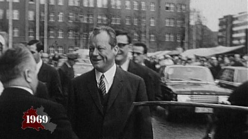 Willy Brandt becomes Federal Chancellor